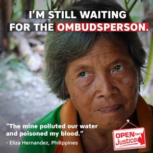 Communities that have suffered harms tied to Canadian mining activity abroad are still waiting for the ombudsperson they were promised.